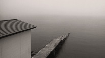 Fototapeta południowe klimaty 64 - pomost, jezioro, nostalgia