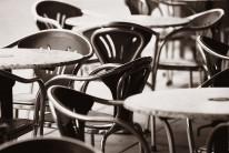 Fototapeta południowe klimaty 67 - krzesła, stoły, kawiarnia, cafe