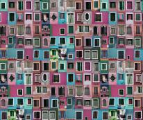 Fototapeta południowe klimaty 69 - okna, fasady, kamieniczki