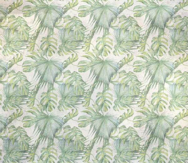 NOWOŚĆ 38- tropical leaves, summertime, liście, jungle, zieleń, tropiki, palma