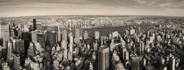 New York City Manhattan panorama aerial view
