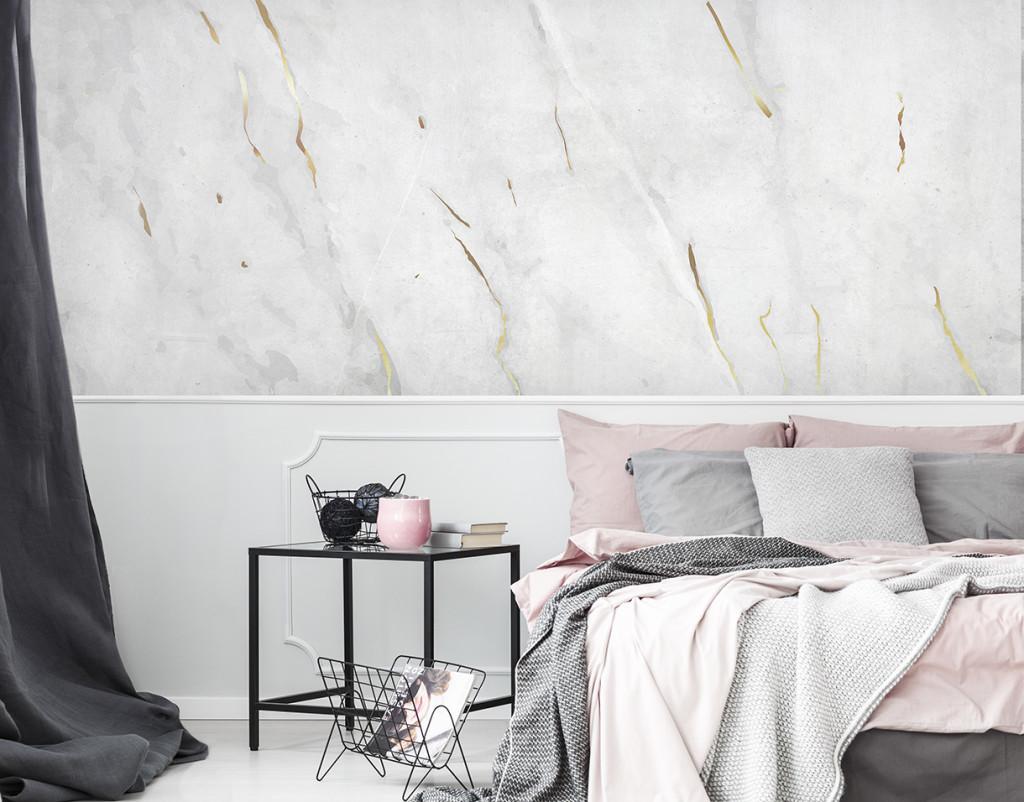 fototapeta do sypialni marmur